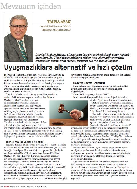 para-dergisi-istac